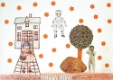 Happy Days, blandteknik, 27 x 40 cm